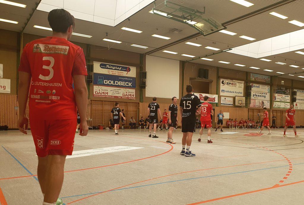 SG Leutershausen im Testspiel gegen die SG Saulheim.