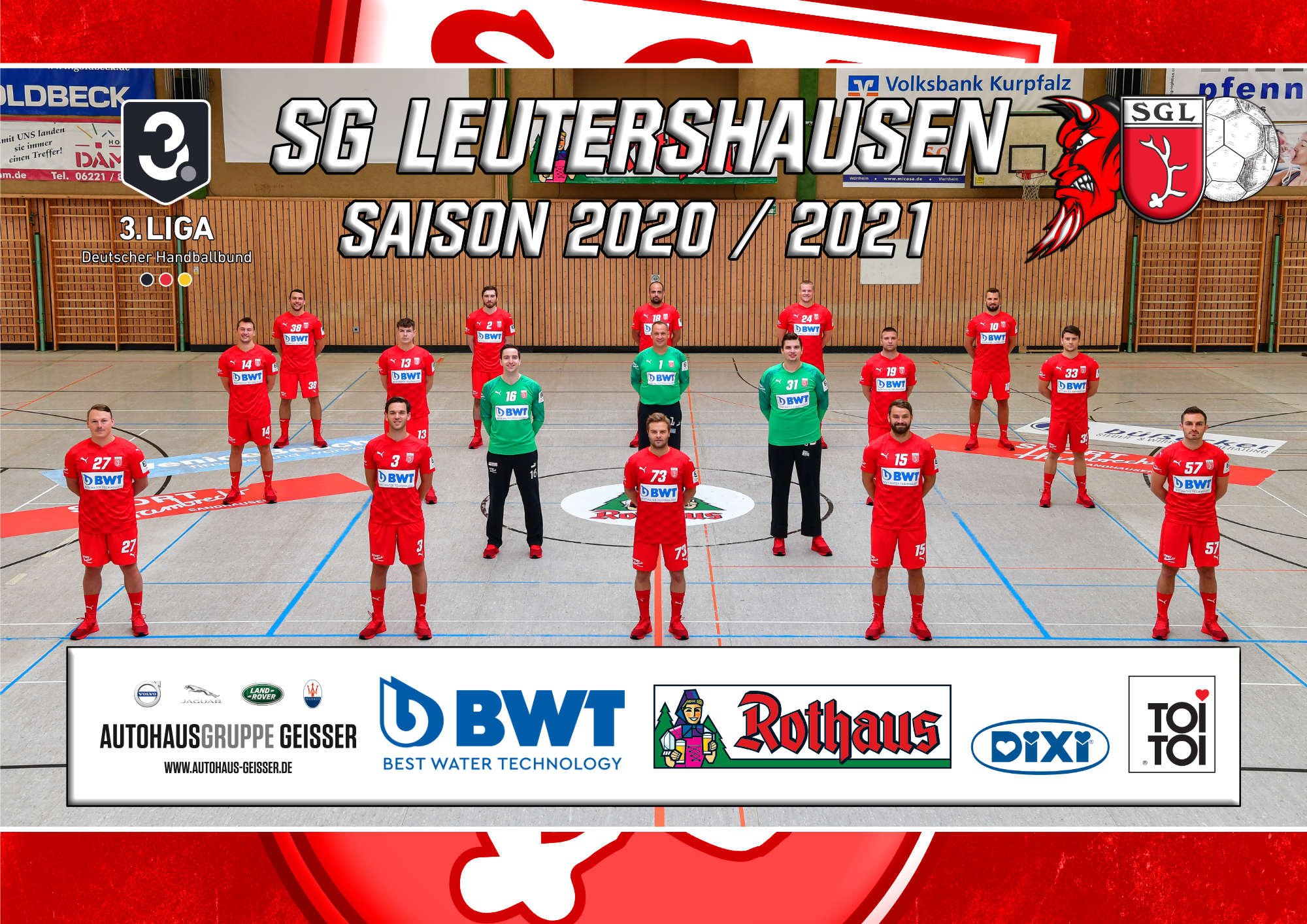 SG Leutershausen Team 2020/21