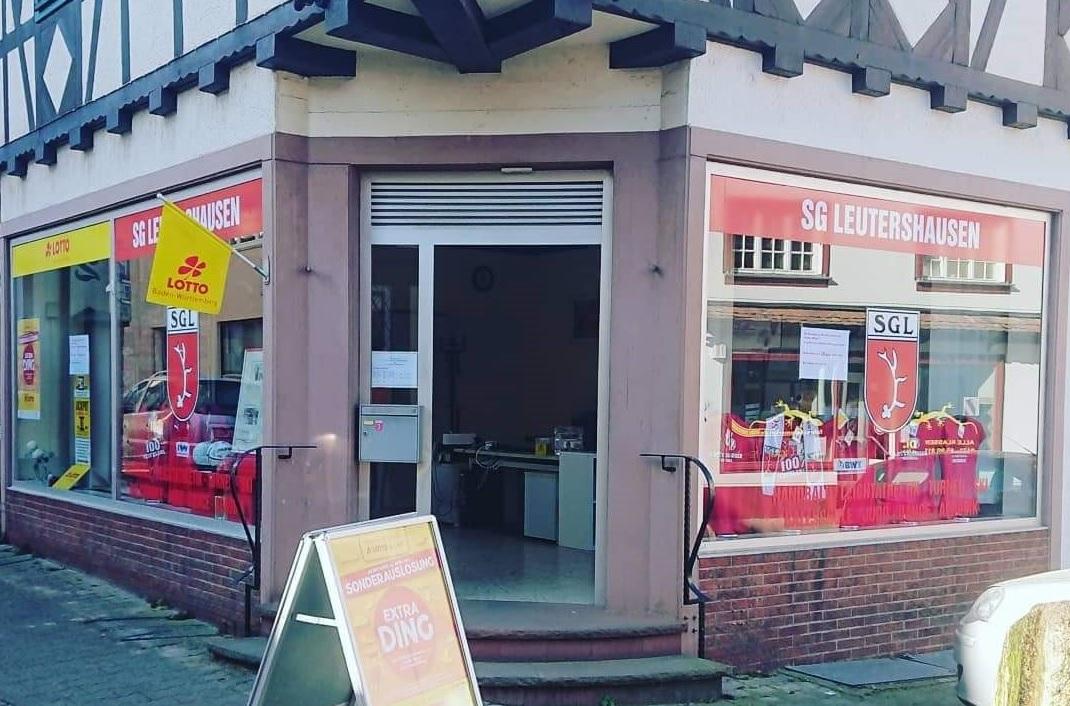 Die Geschäftsstelle der SG Leutershausen