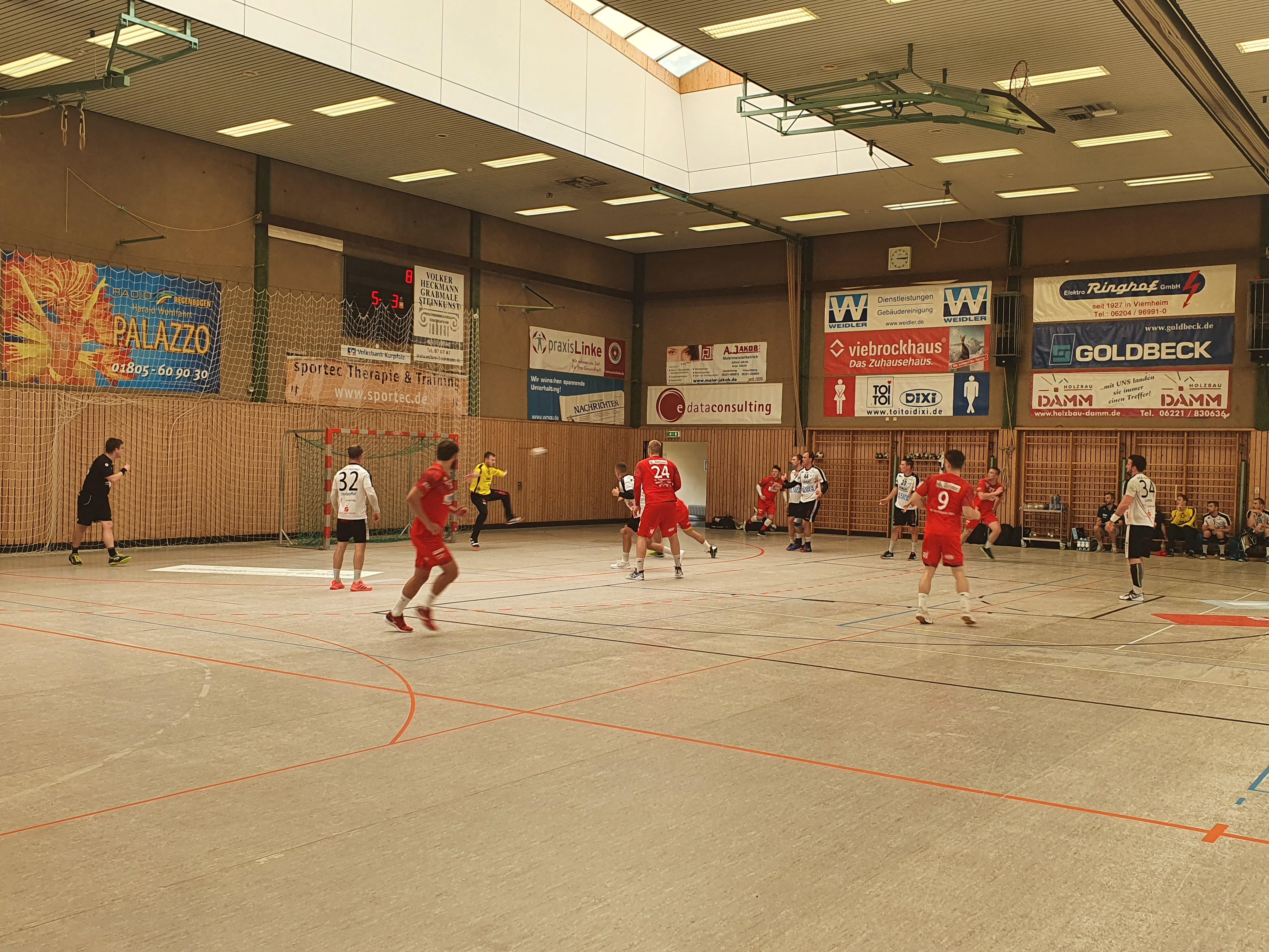 Testspiel der SG Leutershausen gegen Hanau