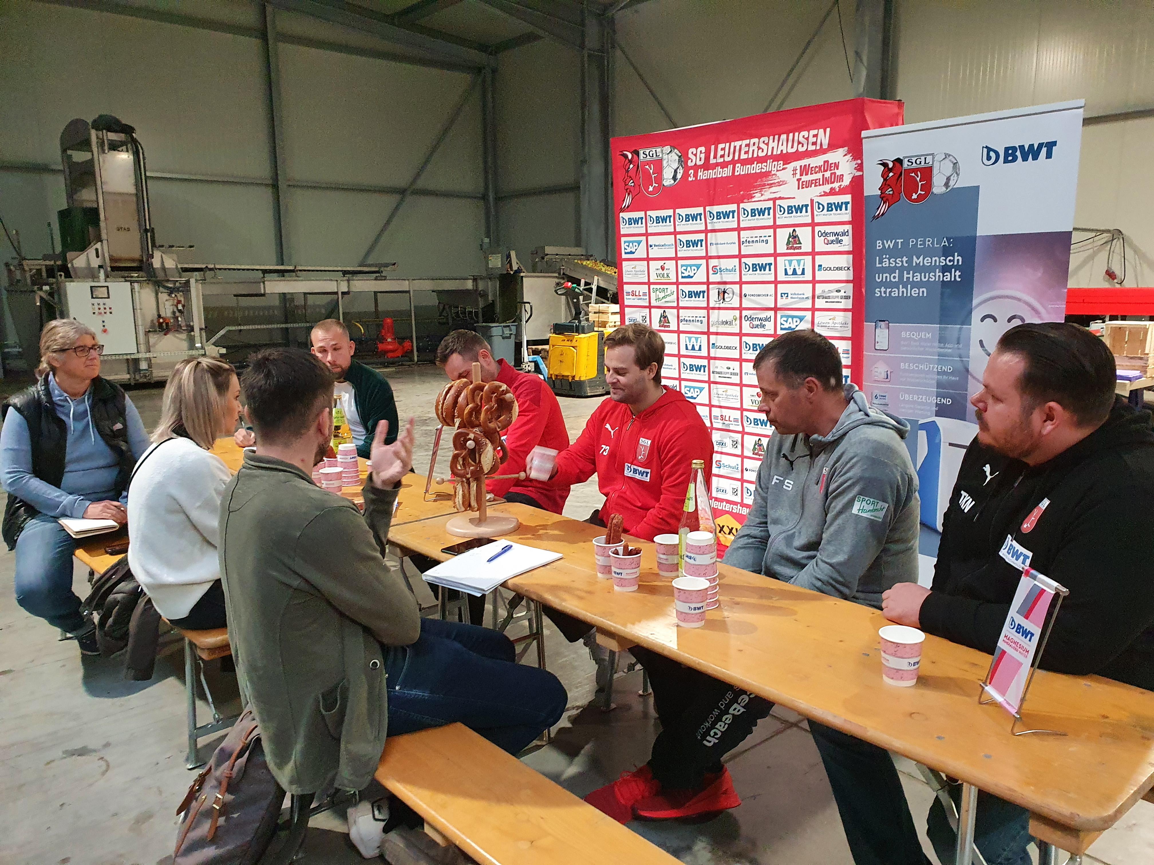 Die SG Leutershausen veranstaltete einen Medien-Tag.