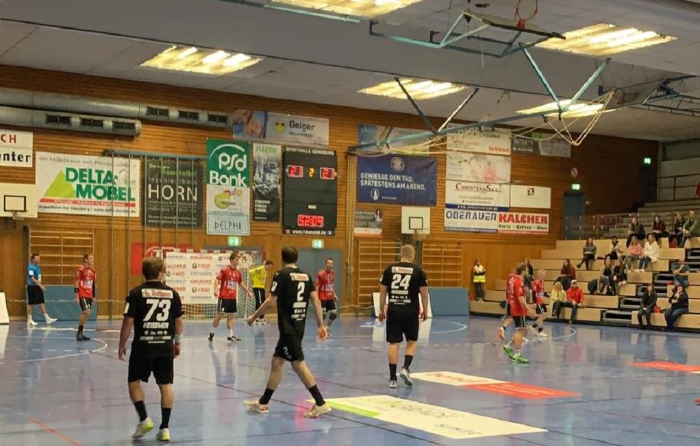 Die SG Leutershausen spielte in Günzburg.