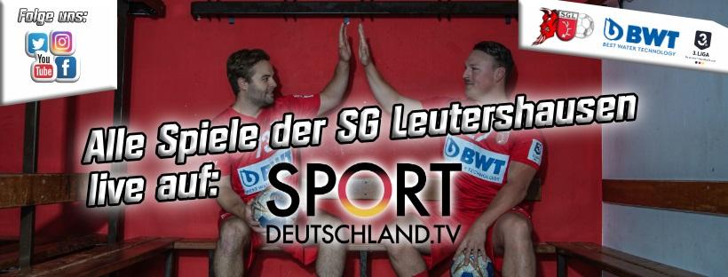 SG Leutershausen im Livestream.