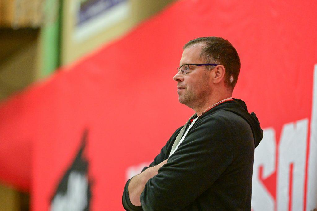 Frank Schmitt, Trainer der SG Leutershausen