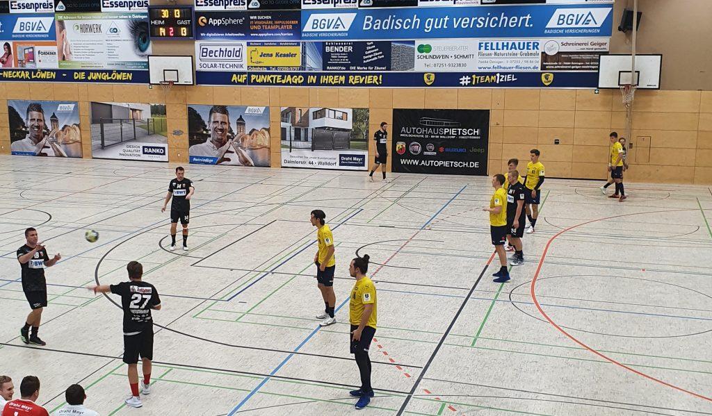 Die SG Leutershausen verliert bei den Rhein-Neckar Löwen II knapp.