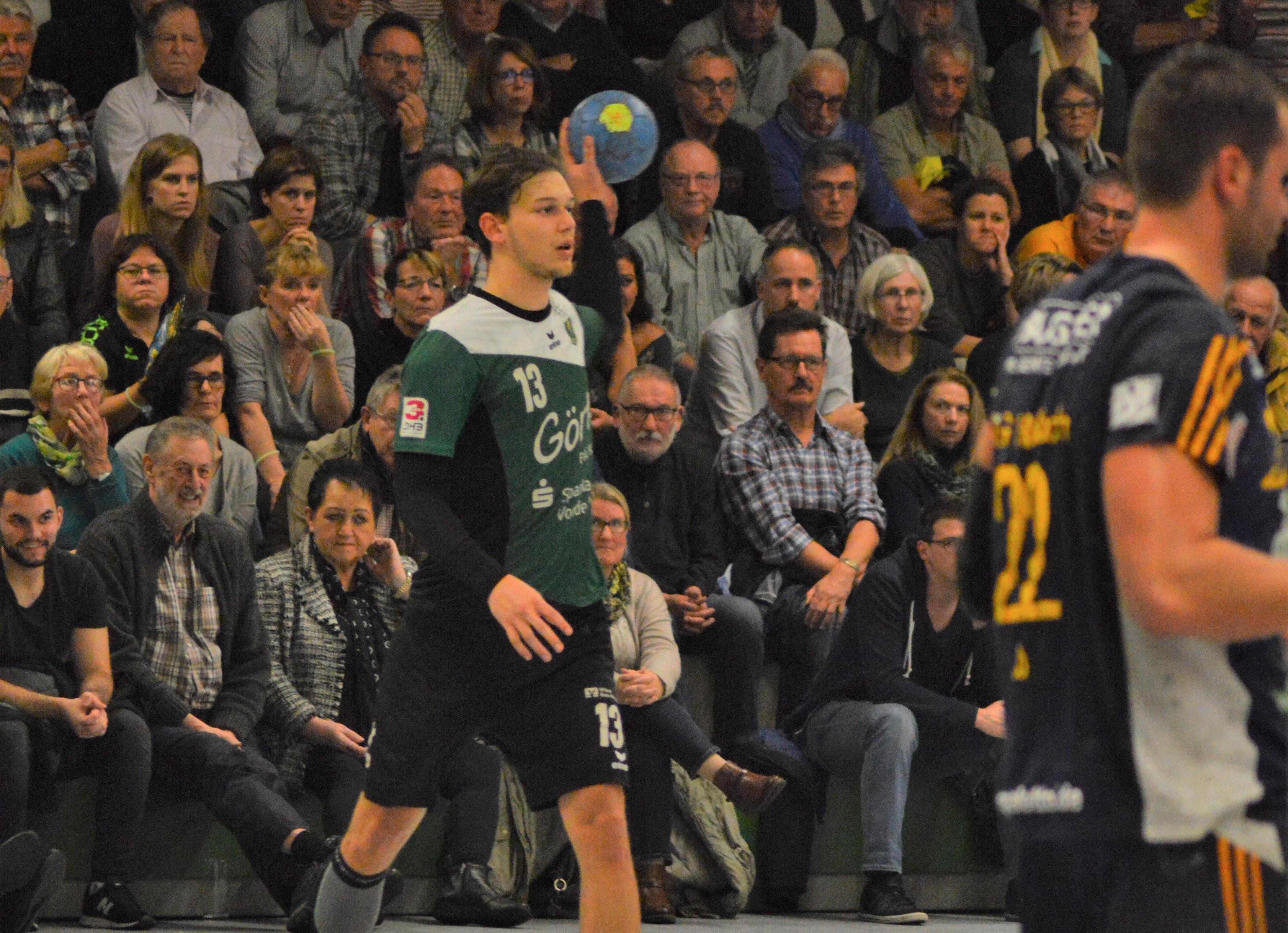 Arne Ruf wechselt zur SG Leutershausen.
