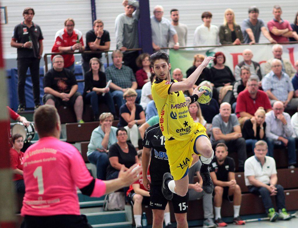 Lucas Bauer wird der neue Rechtsaußen bei der SG Leutershausen.
