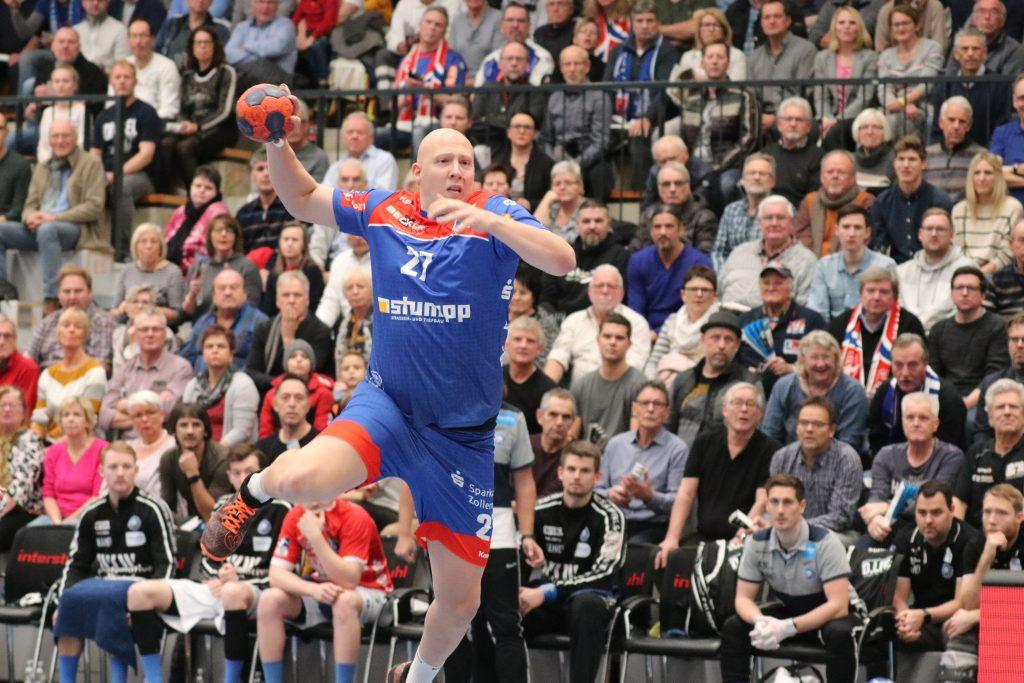 Ein neuer Kreisläufer für die SG Leutershausen: Lars Röller.