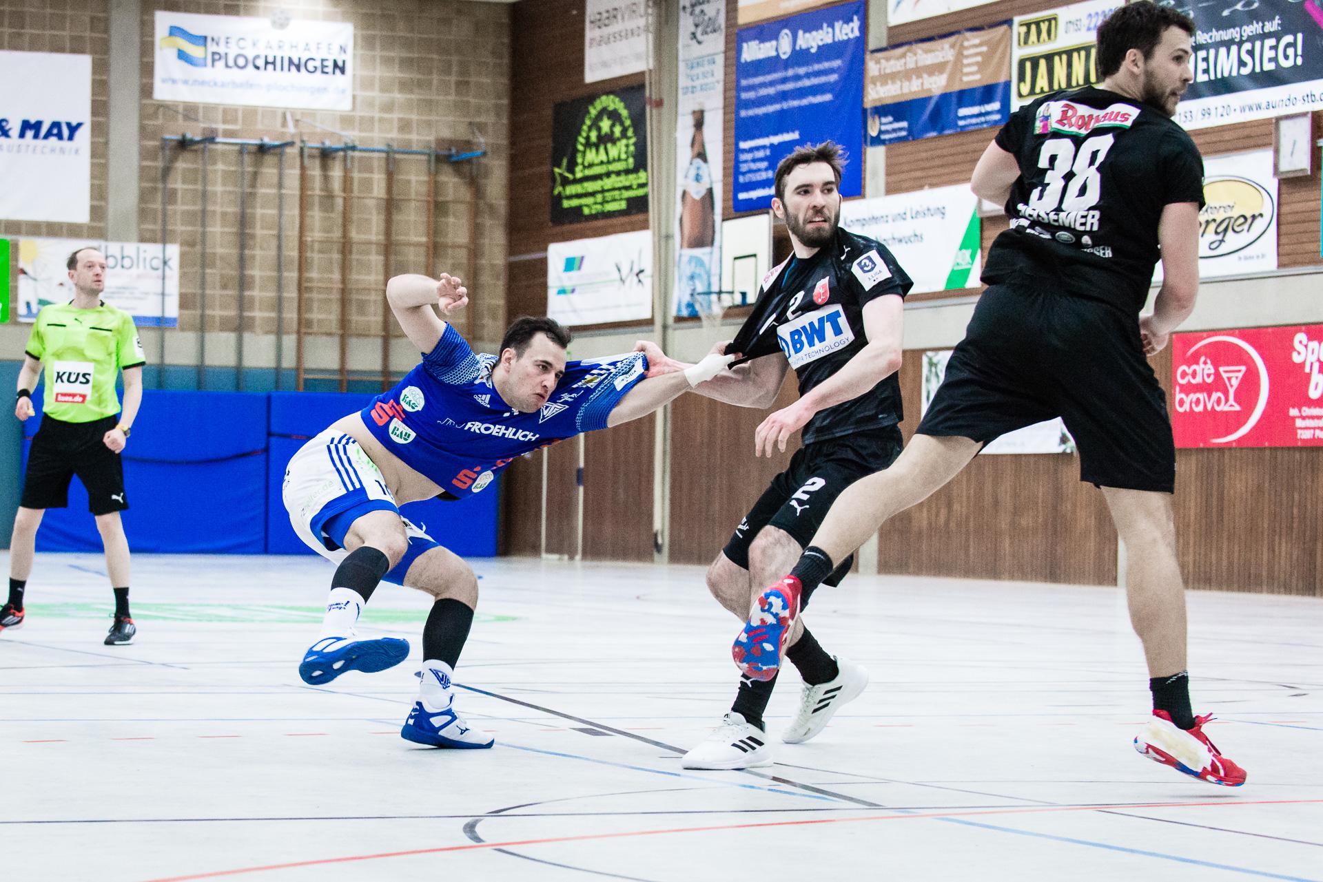 TV Plochingen gegen SG Leutershausen Handball