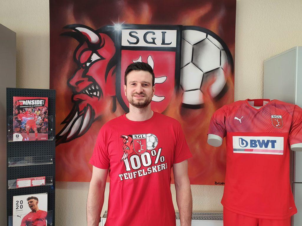 Jonathan Scholz kommt von den Eulen Ludwigshafen zur SG Leutershausen.