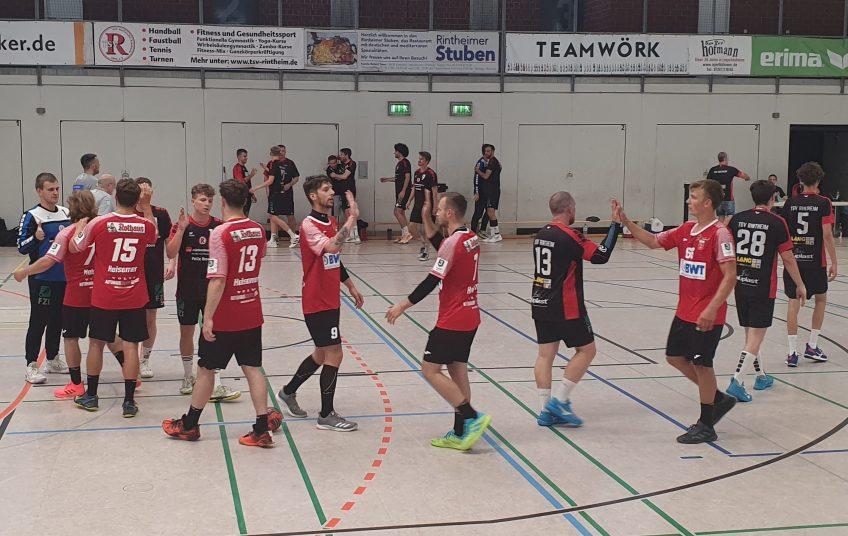 Die SG Leutershausen gewinnt das erste Testspiel der Vorbereitung in Rintheim.