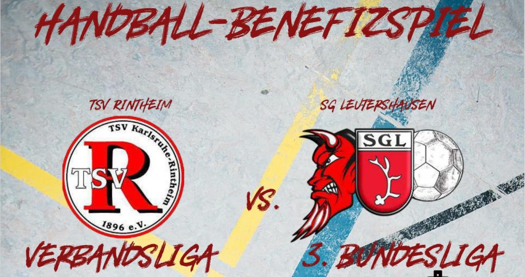 Handball-Benefizspiel TSV Rintheim gegen SG Leutershausen