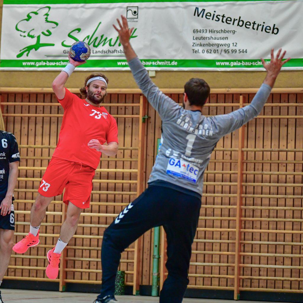 Gianluca Pauli und die SGL empfangen Friesenheim-Hochdorf II.